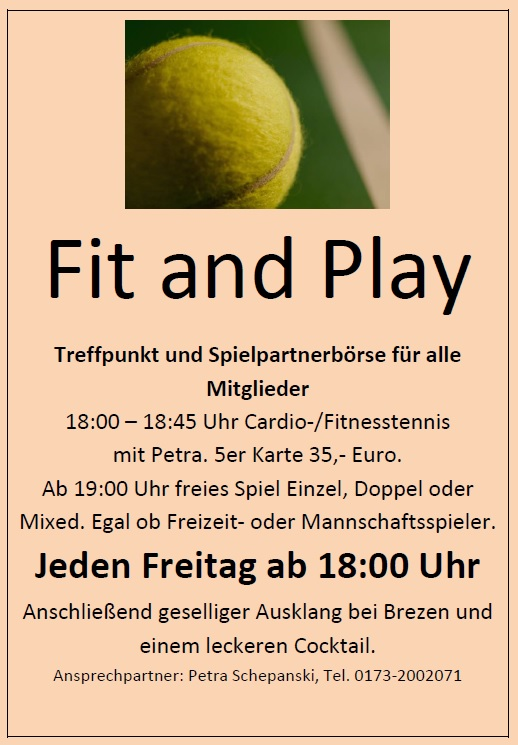 Fit and Play
