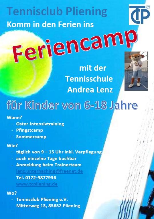 Plakat Feriencamp 2015
