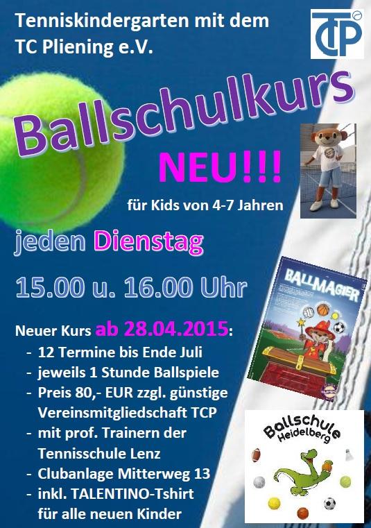 Ballschule April