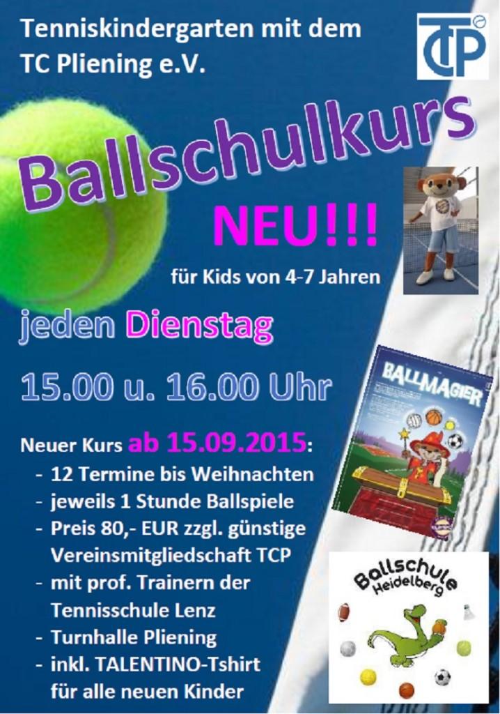 Ballschulkurs September